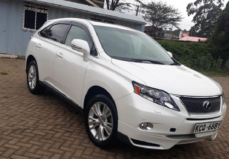 Kenya Nairobi LEXUS RX RX450 H , 4WD with Sunroof(2011) importer catalog | Buy/import LEXUS RX RX450 H , 4WD with Sunroof(2011) to Nairobi, Kenya direct from Japan auction