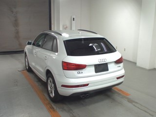 Import and buy AUDI Q3 2017 from Japan to Nairobi, Kenya