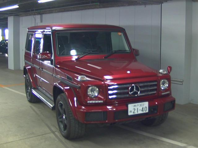 Buy/import MERCEDES BENZ G CLASS (2017) to Kenya from Japan