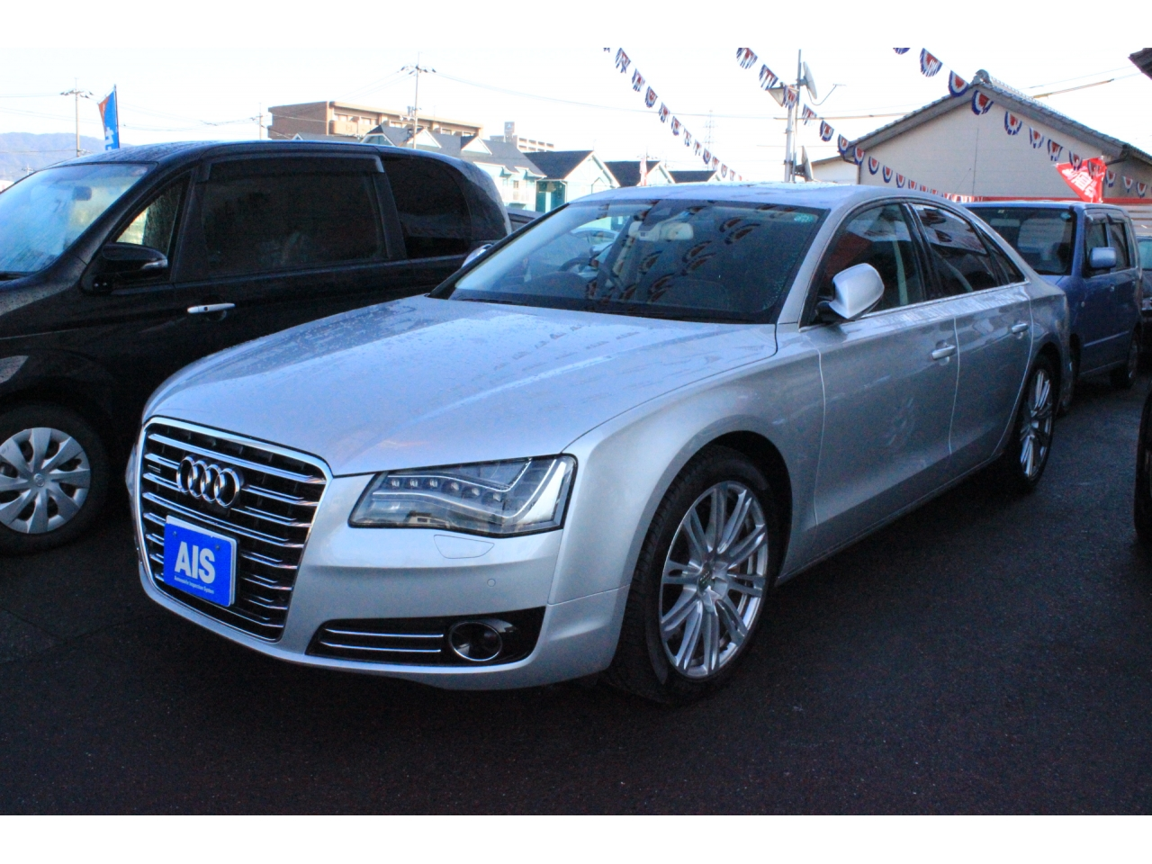 Buy/import AUDI A8 (2011) to Kenya from Japan auction