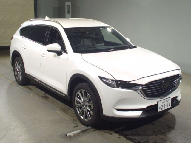 Import and buy MAZDA CX-8 2017 from Japan to Nairobi, Kenya