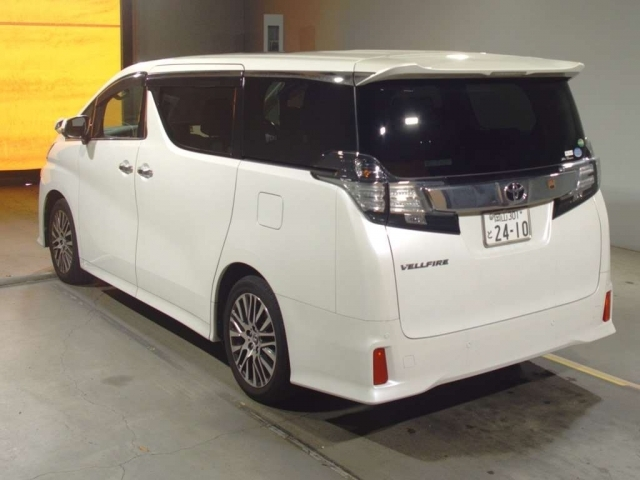 Import and buy TOYOTA VELLFIRE 2016 from Japan to Nairobi, Kenya