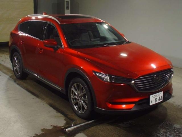 Import and buy MAZDA CX-8 2020 from Japan to Nairobi, Kenya