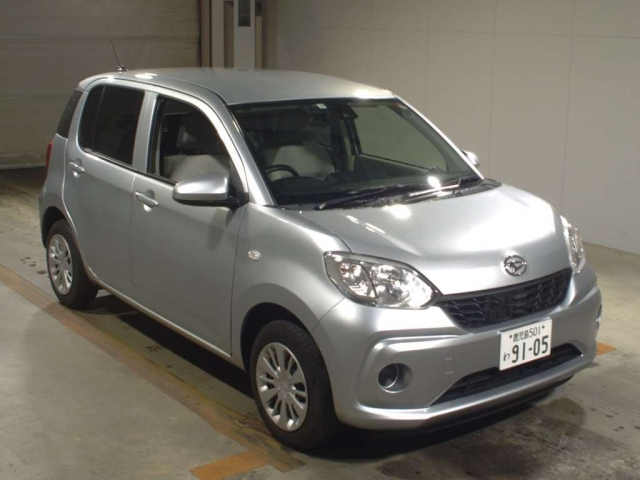 Import and buy DAIHATSU BOON 2017 from Japan to Nairobi, Kenya