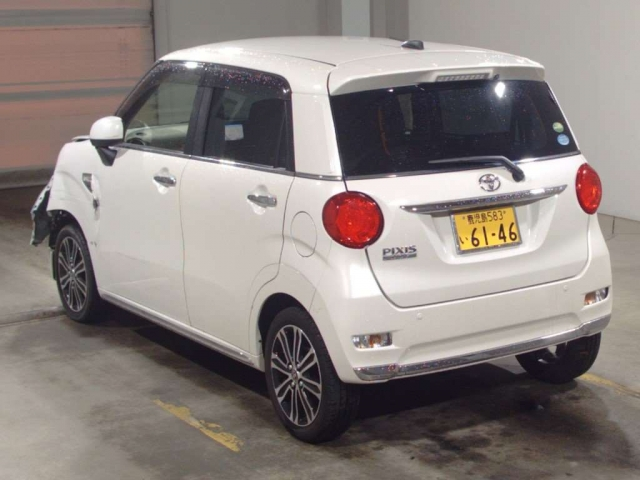 Import and buy TOYOTA PIXIS JOY 2018 from Japan to Nairobi, Kenya