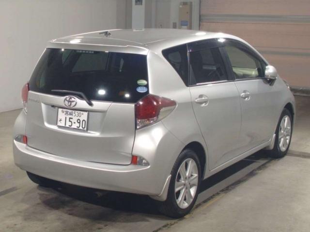 Import and buy TOYOTA RACTIS 2015 from Japan to Nairobi, Kenya