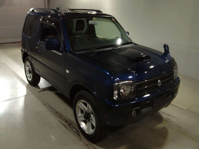 Import and buy SUZUKI JIMNY 2017 from Japan to Nairobi, Kenya