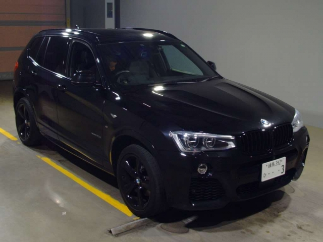 Import and buy BMW X3 2017 from Japan to Nairobi, Kenya
