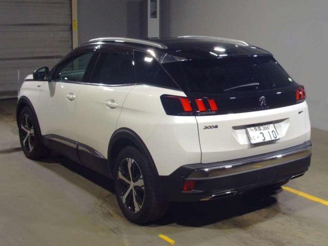 Import and buy PEUGEOT 3008 2018 from Japan to Nairobi, Kenya