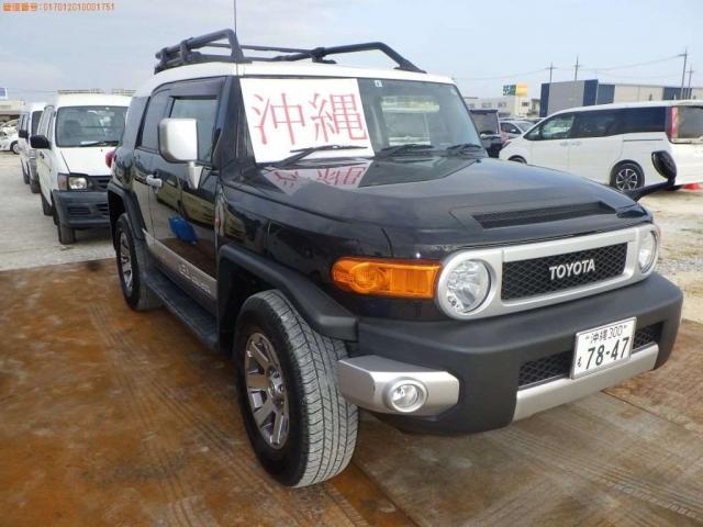 Import and buy TOYOTA FJ CRUISER 2015 from Japan to Nairobi, Kenya