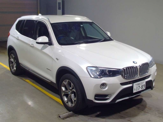 Import and buy BMW X3 2015 from Japan to Nairobi, Kenya