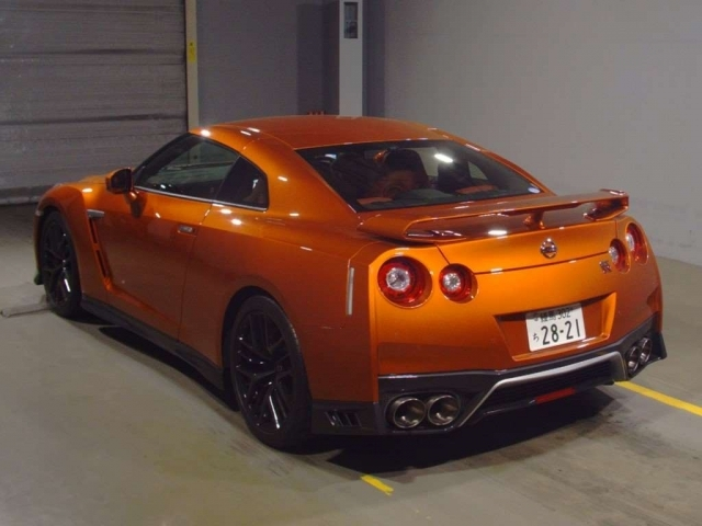 Import and buy NISSAN GT-R 2017 from Japan to Nairobi, Kenya