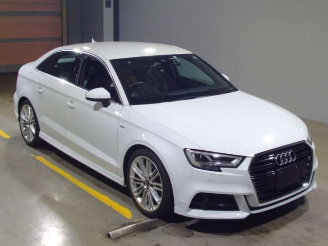 Import and buy AUDI A3 2018 from Japan to Nairobi, Kenya