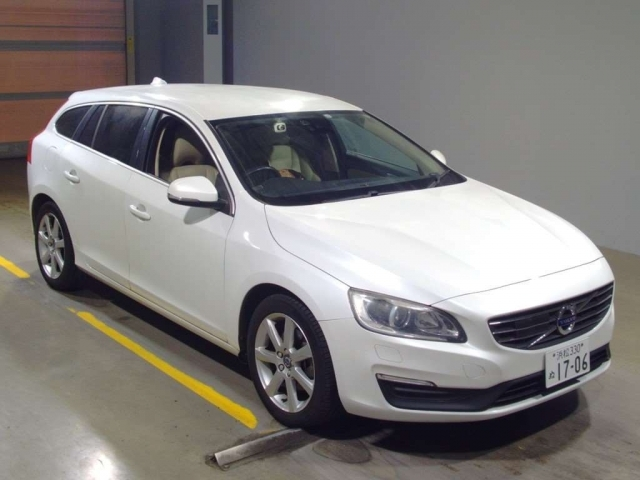 Import and buy VOLVO V60 2015 from Japan to Nairobi, Kenya