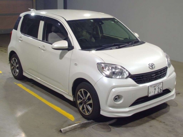 Import and buy TOYOTA PASSO 2017 from Japan to Nairobi, Kenya