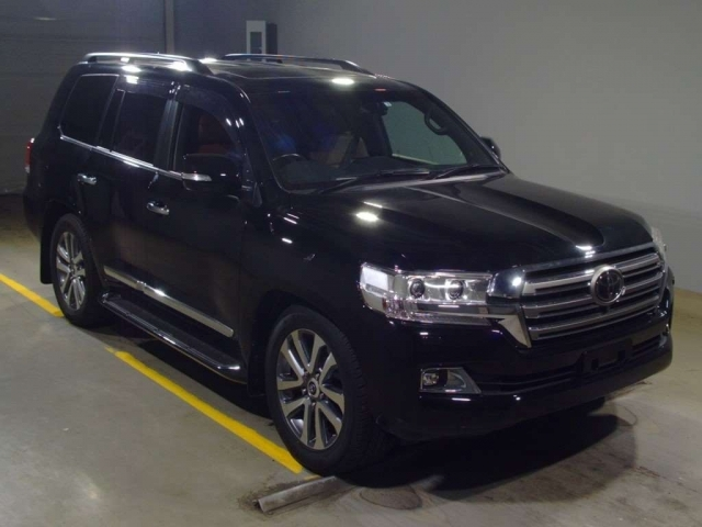 Import and buy TOYOTA LAND CRUISER 2018 from Japan to Nairobi, Kenya