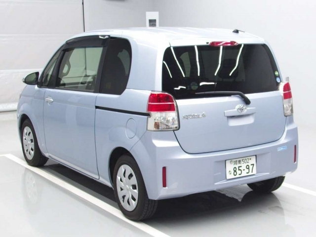 Import and buy TOYOTA SPADE 2014 from Japan to Nairobi, Kenya