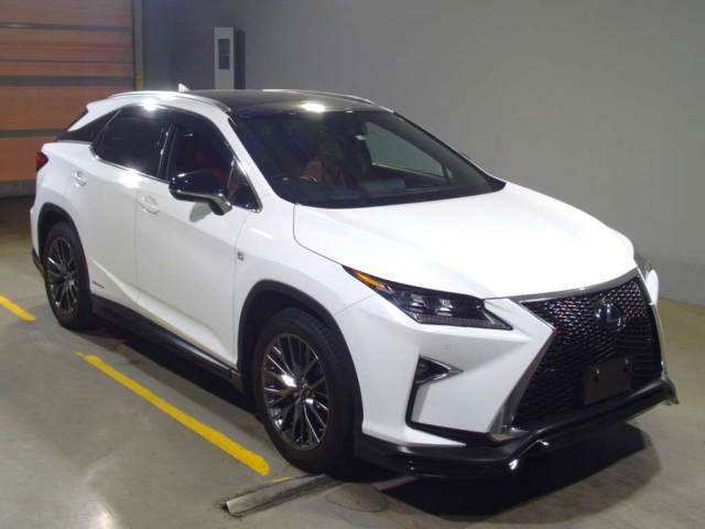 Import and buy LEXUS RX 2018 from Japan to Nairobi, Kenya