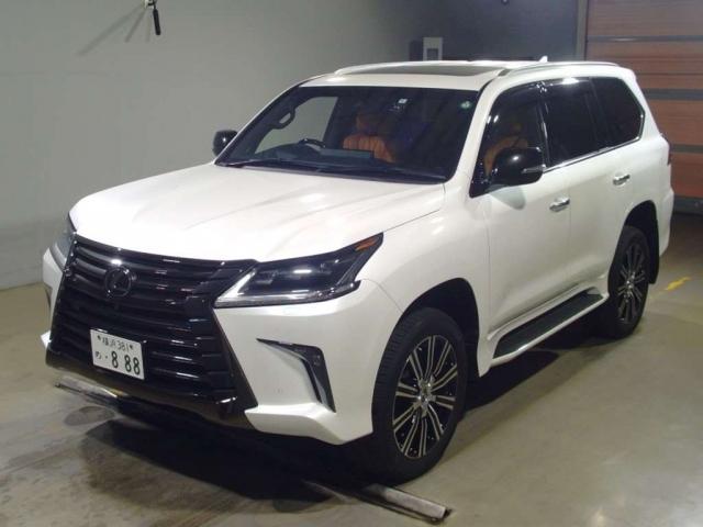 Import and buy LEXUS LX 2020 from Japan to Nairobi, Kenya