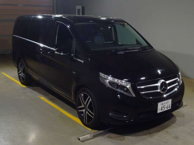 Import and buy MERCEDES BENZ V CLASS 2016 from Japan to Nairobi, Kenya