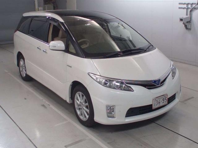 Import and buy TOYOTA ESTIMA HYBRID 2014 from Japan to Nairobi, Kenya