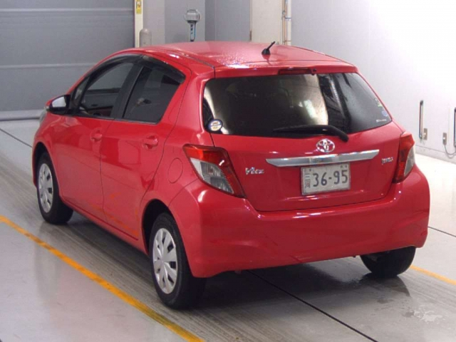 Import and buy TOYOTA VITZ 2014 from Japan to Nairobi, Kenya