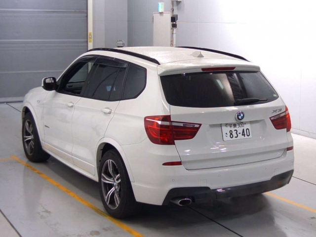 Import and buy BMW X3 2014 from Japan to Nairobi, Kenya