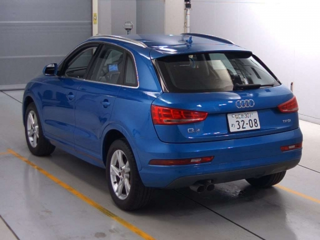Import and buy AUDI Q3 2016 from Japan to Nairobi, Kenya