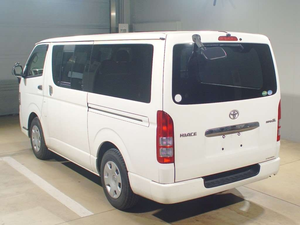 Buy TOYOTA HIACE VAN (2013) from Japan auction and import to