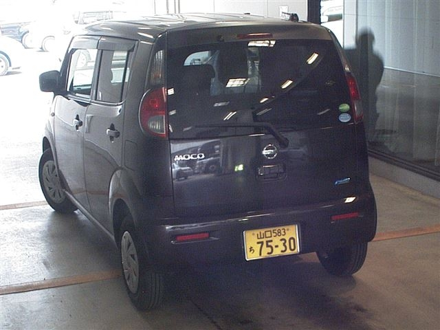 Import and buy NISSAN MOCO 2014 from Japan to Nairobi, Kenya