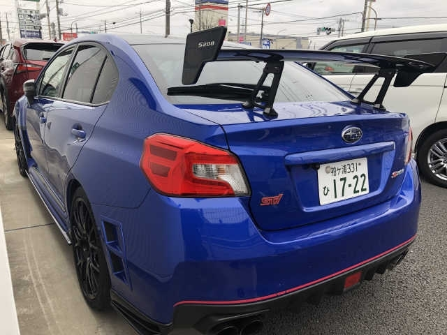 Import and buy SUBARU WRX STI 2018 from Japan to Nairobi, Kenya