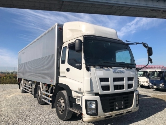 Import and buy ISUZU GIGA 2015 from Japan to Nairobi, Kenya