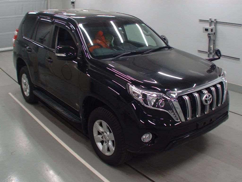 Import and buy TOYOTA LAND CRUISER PRADO 2016 from Japan to Nairobi, Kenya