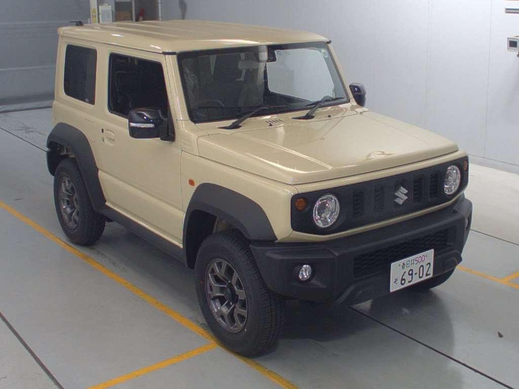 Import and buy SUZUKI JIMNY SIERRA 2020 from Japan to Nairobi, Kenya