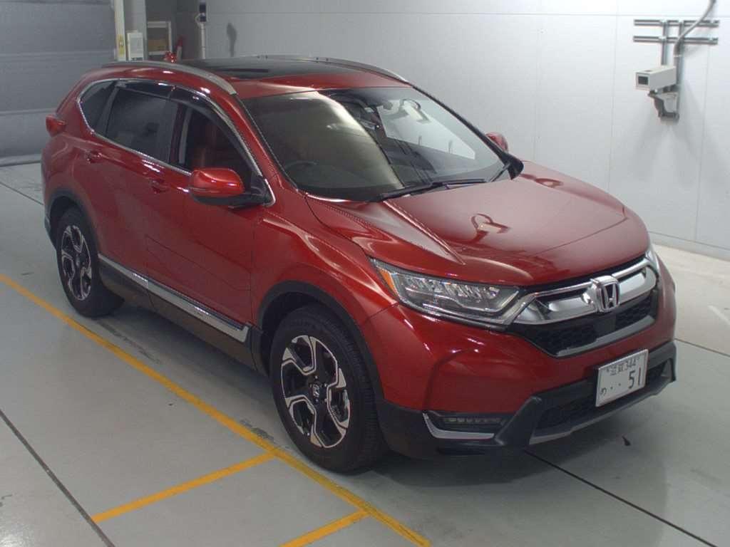 Import and buy HONDA CR-V 2020 from Japan to Nairobi, Kenya