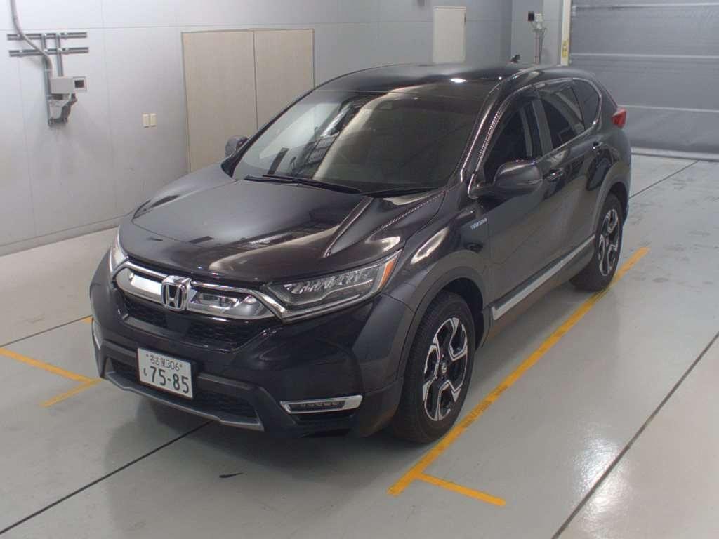 Import and buy HONDA CR-V 2019 from Japan to Nairobi, Kenya