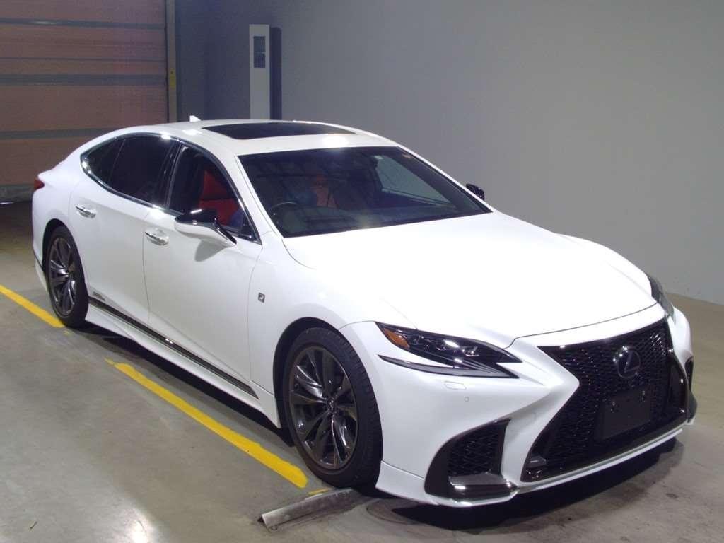 Import and buy LEXUS LS 2017 from Japan to Nairobi, Kenya