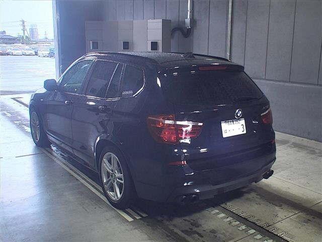 Import and buy BMW X3 2013 from Japan to Nairobi, Kenya