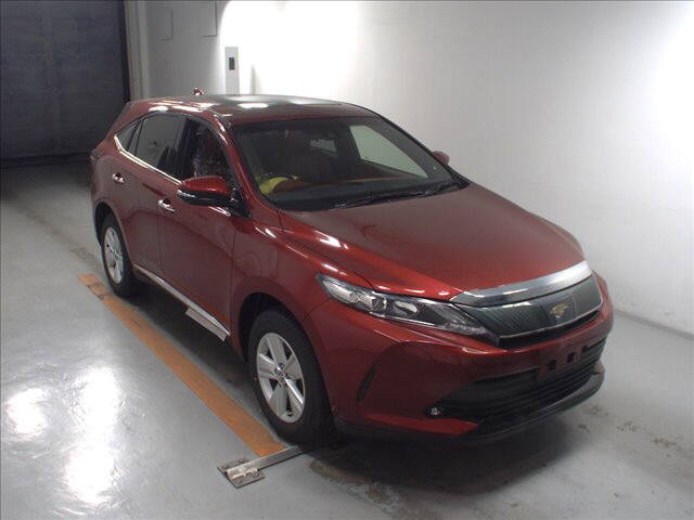 Buy/import TOYOTA HARRIER (2017) to Kenya from Japan auction