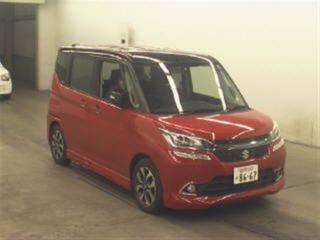 Import and buy SUZUKI SOLIO BANDIT 2016 from Japan to Nairobi, Kenya