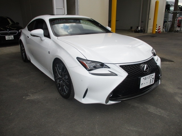 Import and buy LEXUS RC 2015 from Japan to Nairobi, Kenya