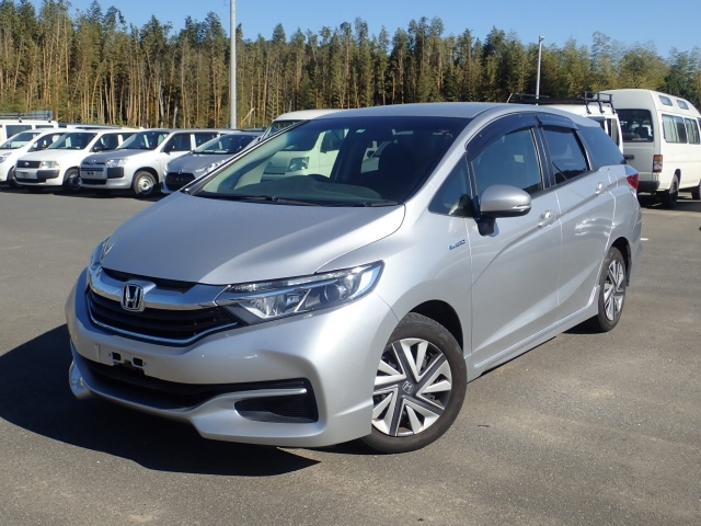 Import and buy HONDA SHUTTLE 2015 from Japan to Nairobi, Kenya