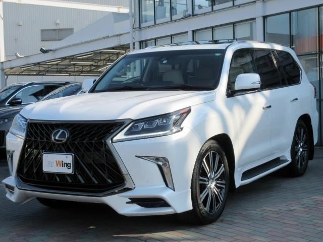 Import and buy LEXUS LX 2018 from Japan to Nairobi, Kenya