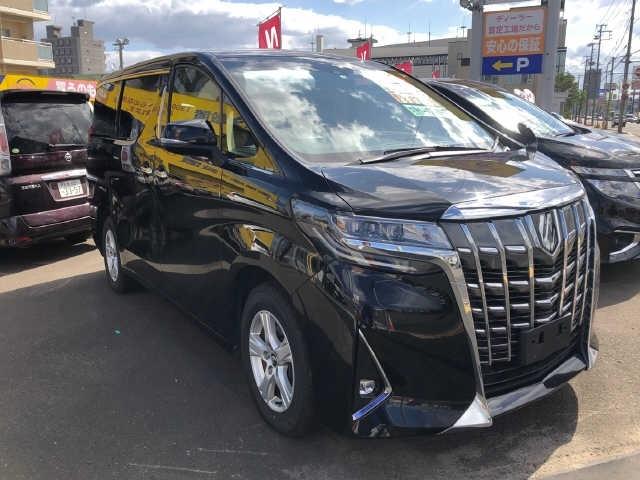 Import and buy TOYOTA ALPHARD 2018 from Japan to Nairobi, Kenya