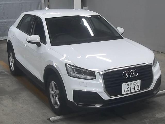 Import and buy AUDI Q2 2017 from Japan to Nairobi, Kenya