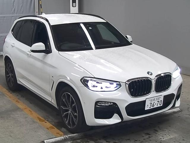 Import and buy BMW X3 2018 from Japan to Nairobi, Kenya