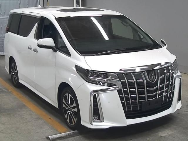 Import and buy TOYOTA ALPHARD 2019 from Japan to Nairobi, Kenya