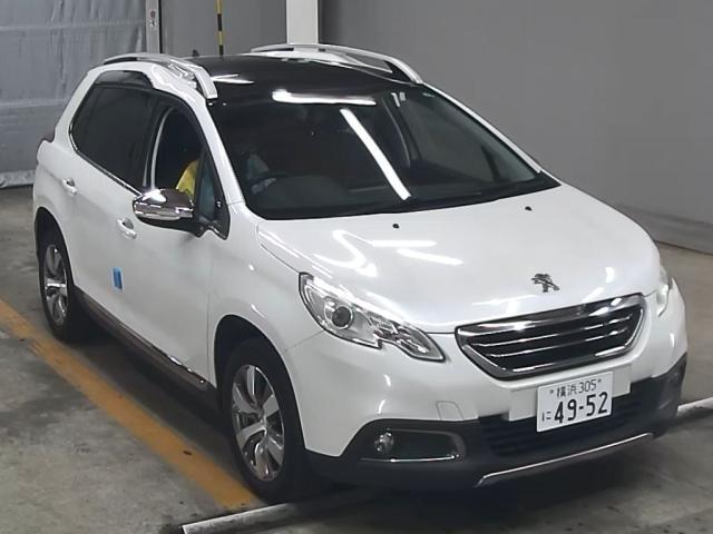 Import and buy PEUGEOT 2008 2015 from Japan to Nairobi, Kenya