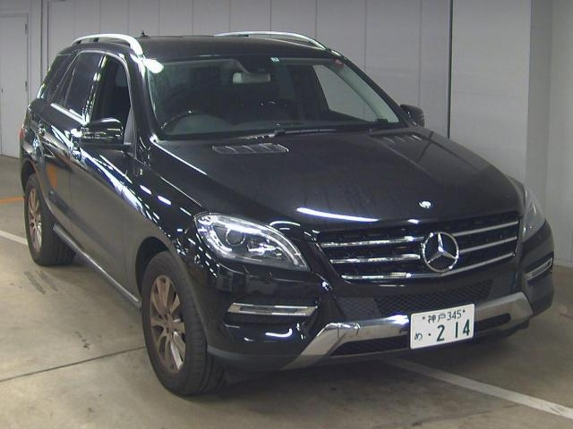 Import and buy MERCEDES BENZ ML CLASS 2013 from Japan to Nairobi, Kenya