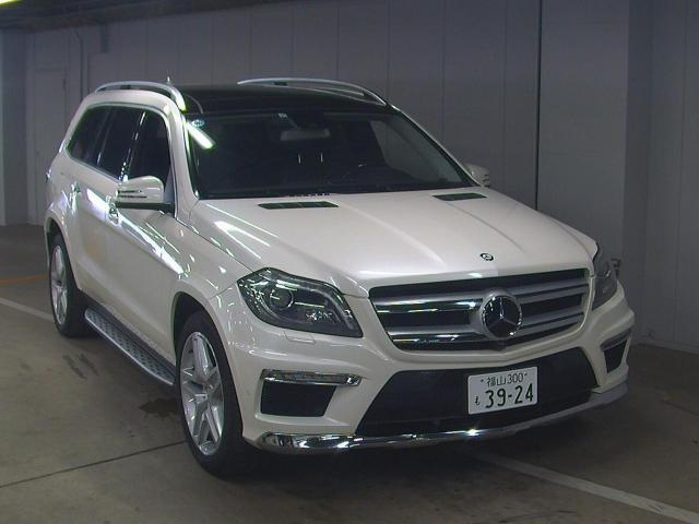 Import and buy MERCEDES BENZ GL CLASS 2013 from Japan to Nairobi, Kenya